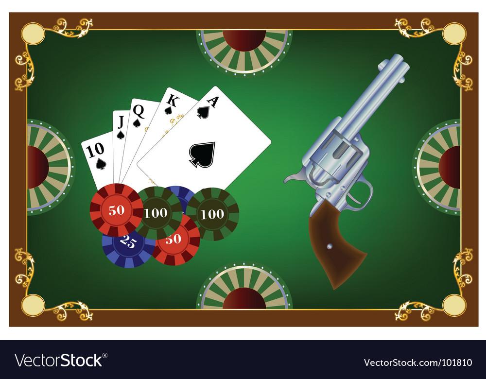 Vwestern poker vector | Price: 1 Credit (USD $1)