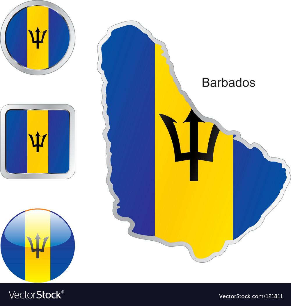 Barbados vector   Price: 1 Credit (USD $1)