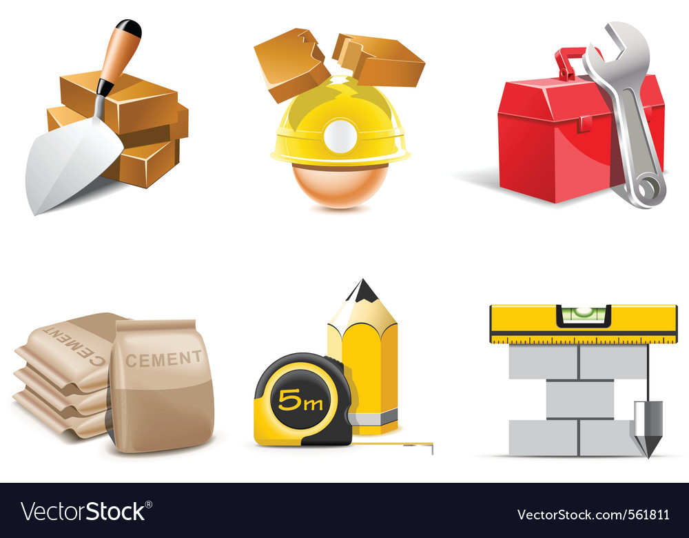 Building icons vector | Price: 3 Credit (USD $3)