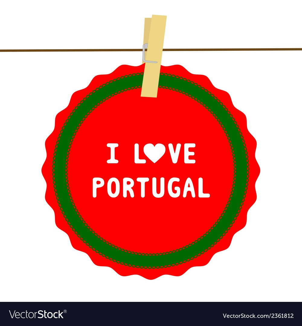 I love portugal4 vector | Price: 1 Credit (USD $1)