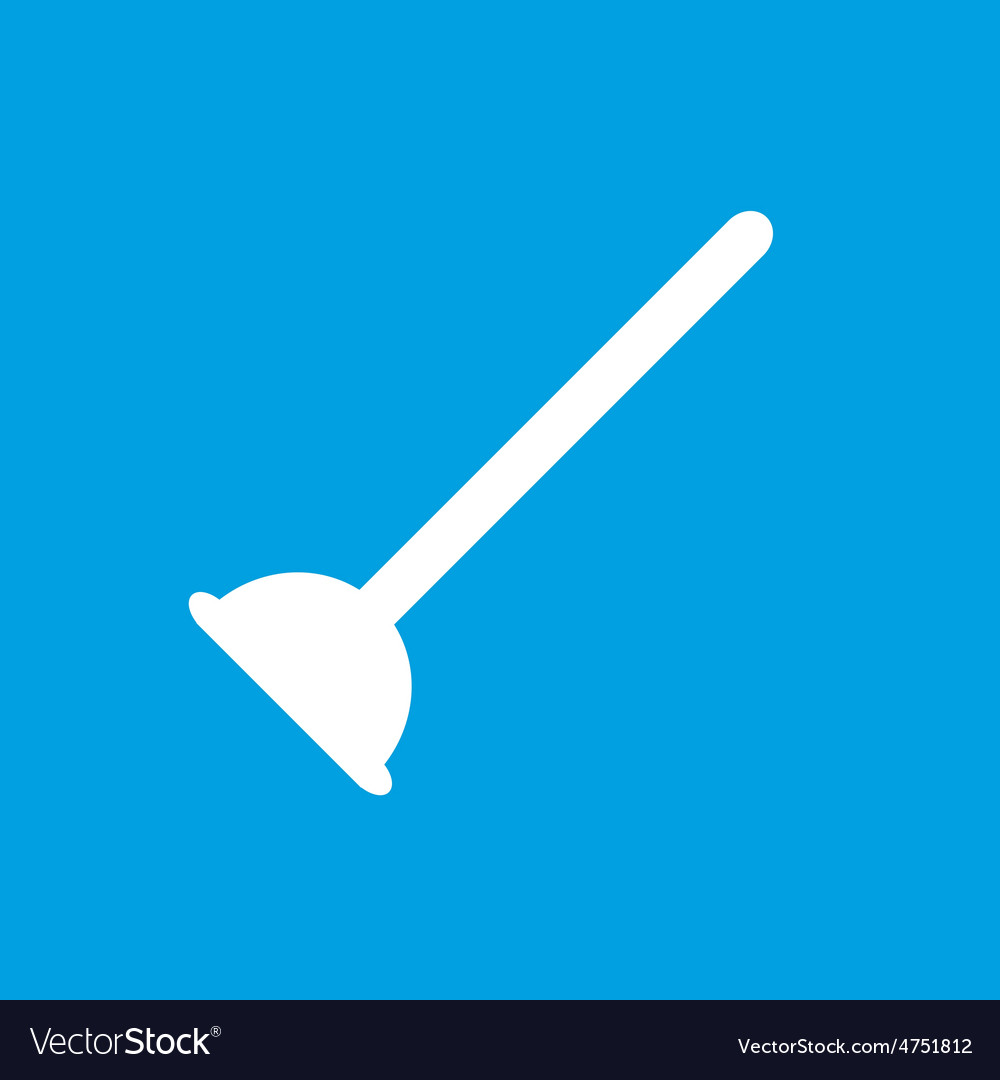 Plunger icon vector | Price: 1 Credit (USD $1)