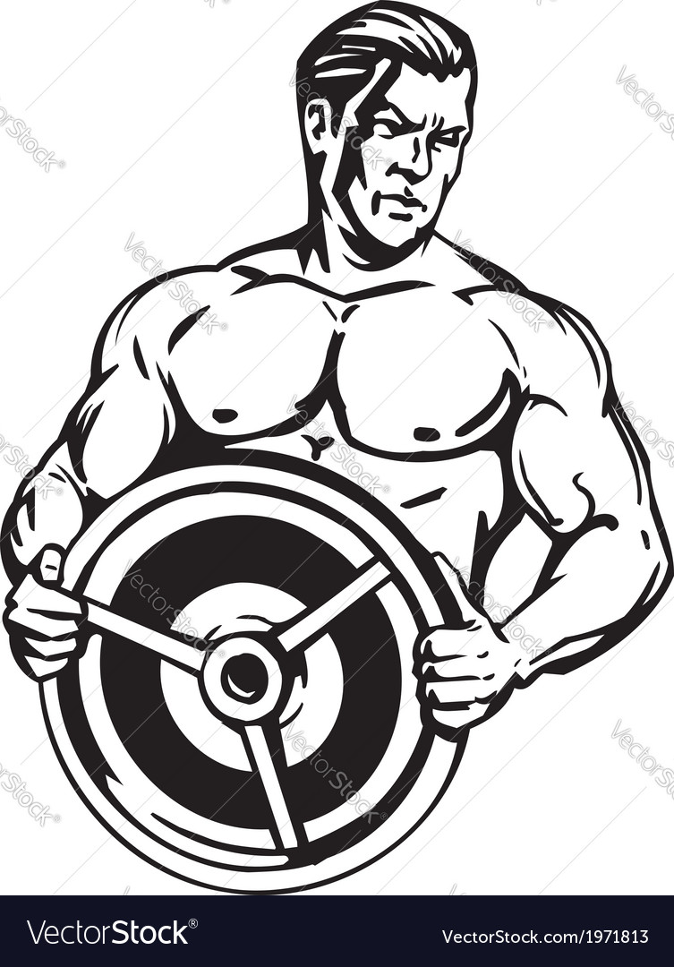 Bodybuilding and powerlifting - vector   Price: 1 Credit (USD $1)