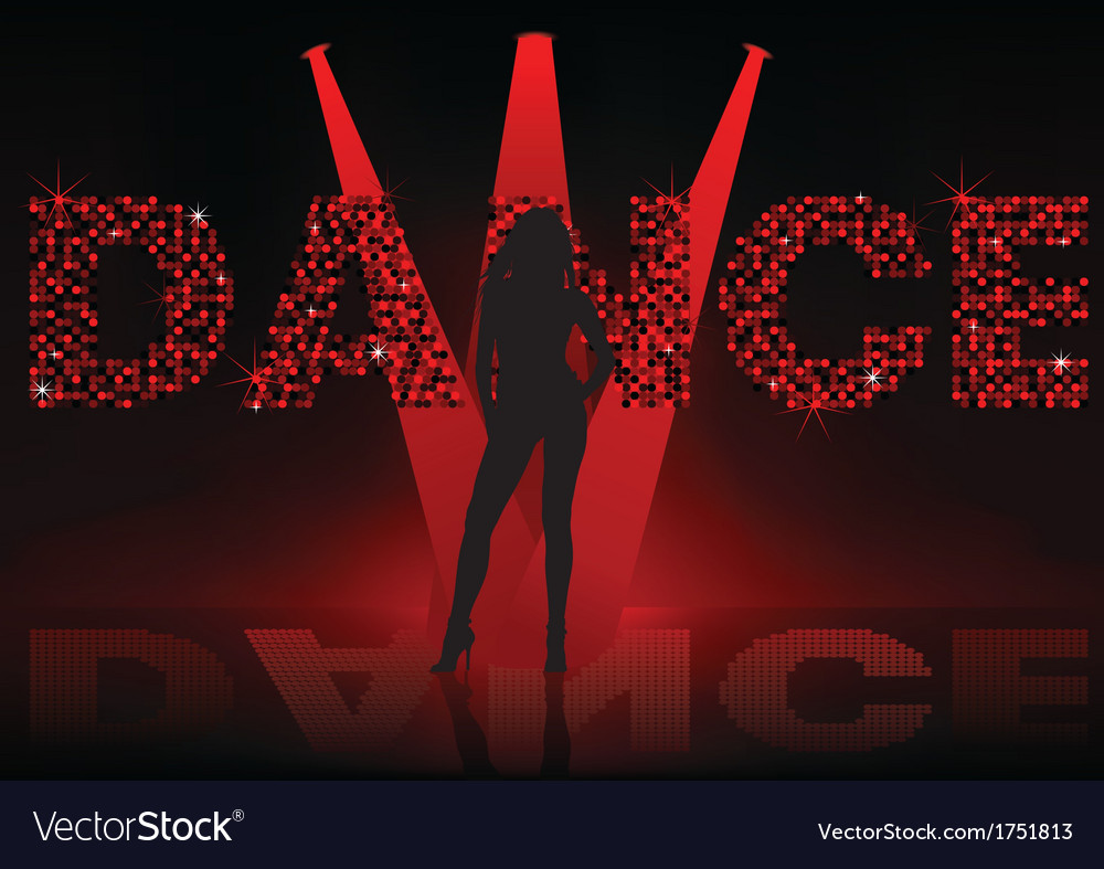 Dance wallpaper vector | Price: 1 Credit (USD $1)