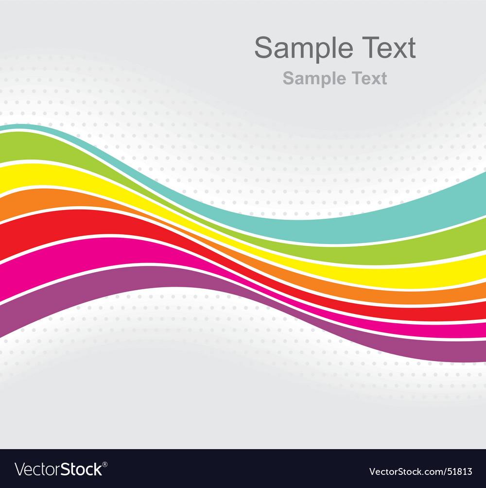 Rainbow gray vector | Price: 1 Credit (USD $1)