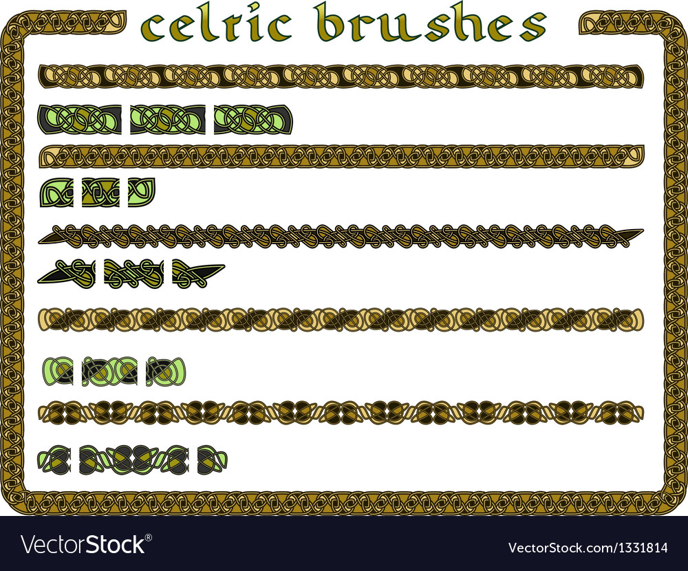 Celtic ornament in a seamless vector | Price: 1 Credit (USD $1)