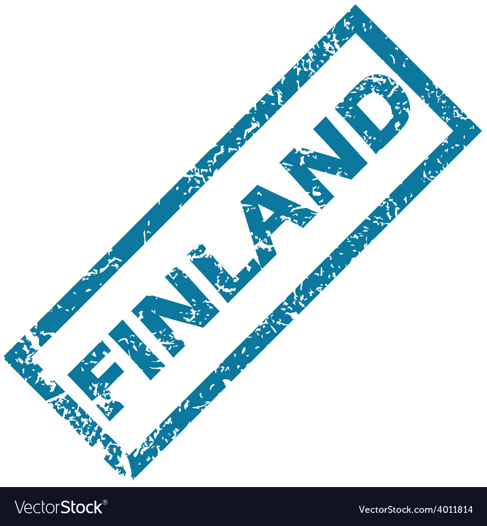 Finland rubber stamp vector | Price: 1 Credit (USD $1)