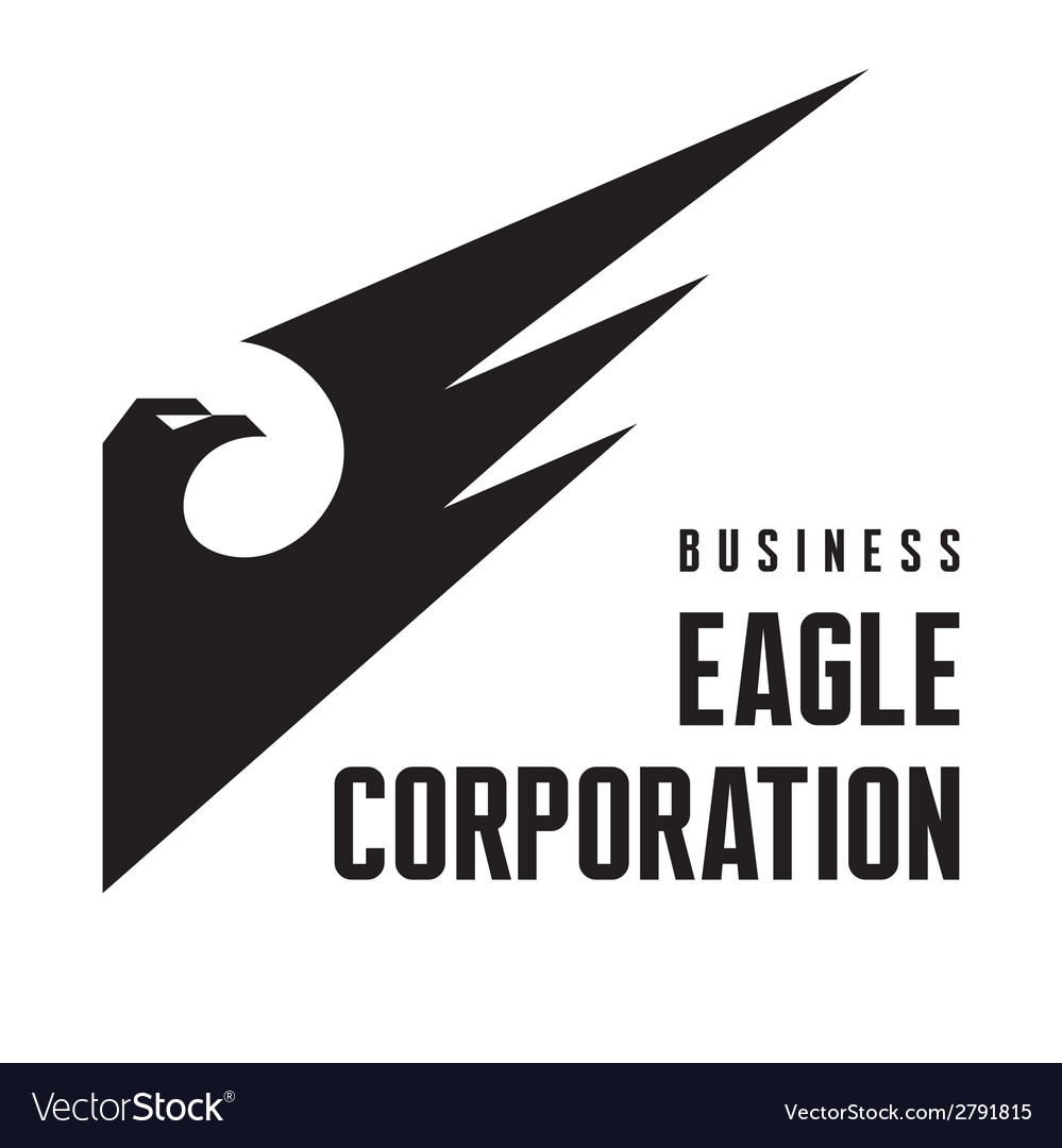 Eagle corporation - logo sign vector | Price: 1 Credit (USD $1)