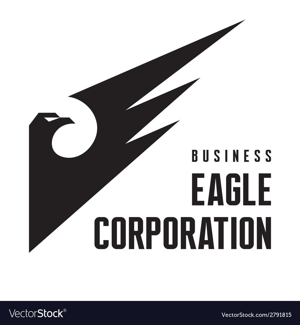 Eagle corporation - logo sign vector | Price: 1 Credit (USD $1)