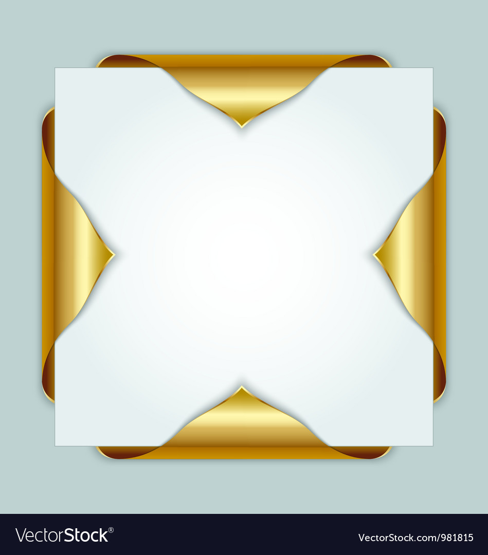 Golden bookmarks vector | Price: 1 Credit (USD $1)