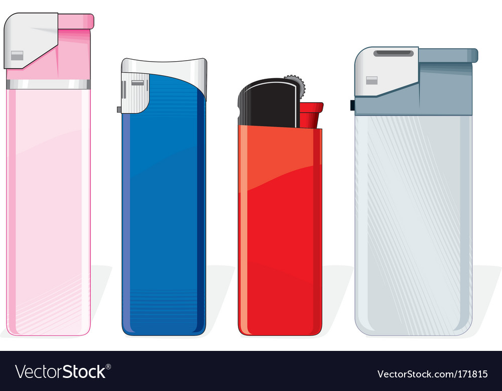 Lighters vector | Price: 1 Credit (USD $1)