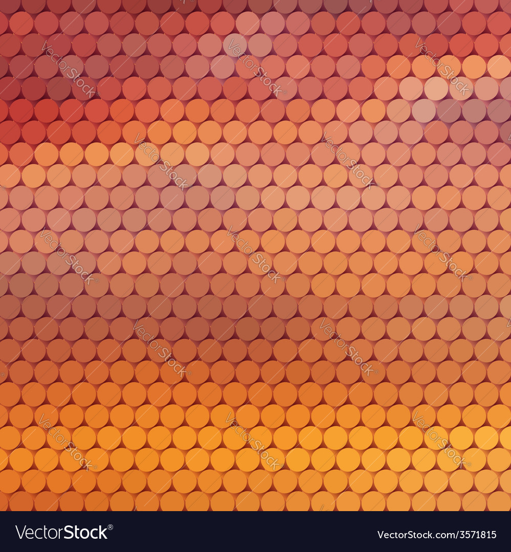 Sundown themed background with circular grid vector | Price: 1 Credit (USD $1)