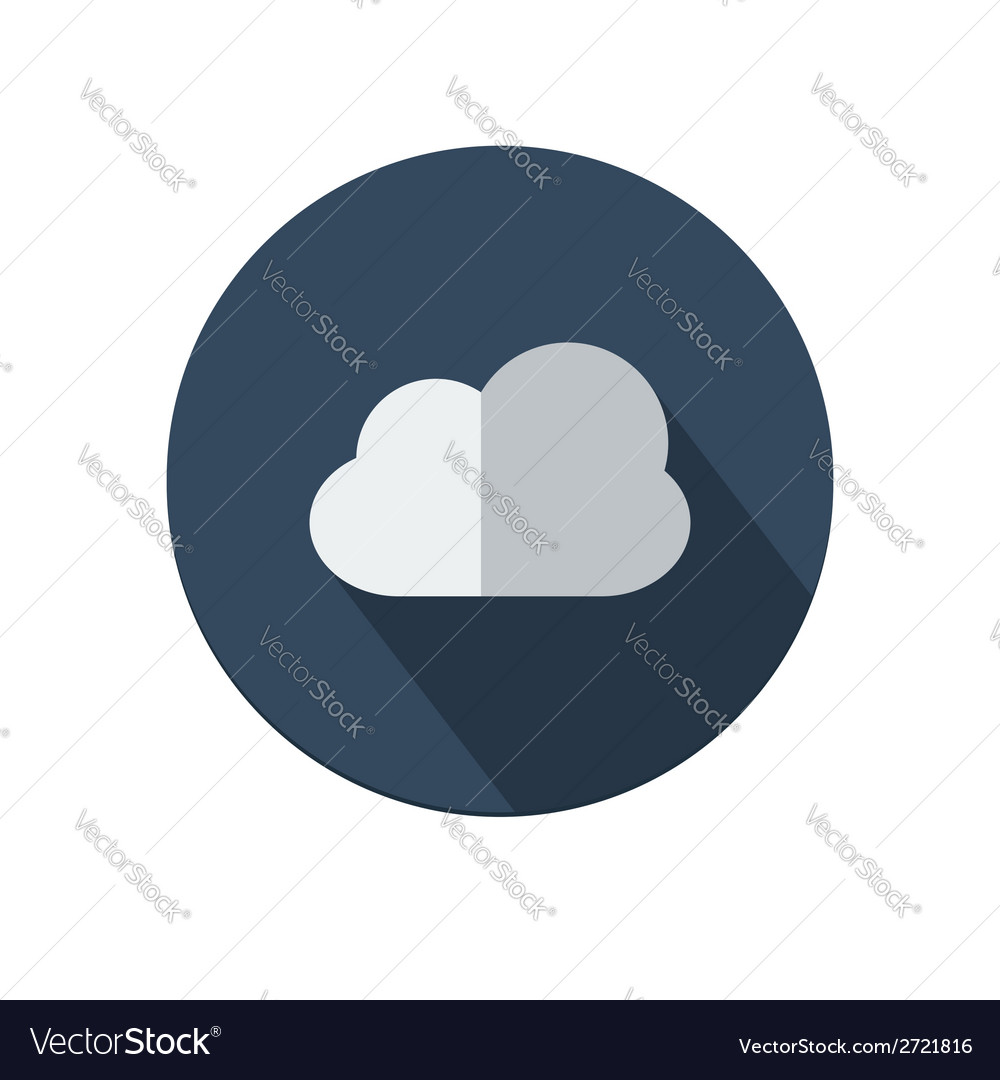 Cloud icon vector | Price: 1 Credit (USD $1)