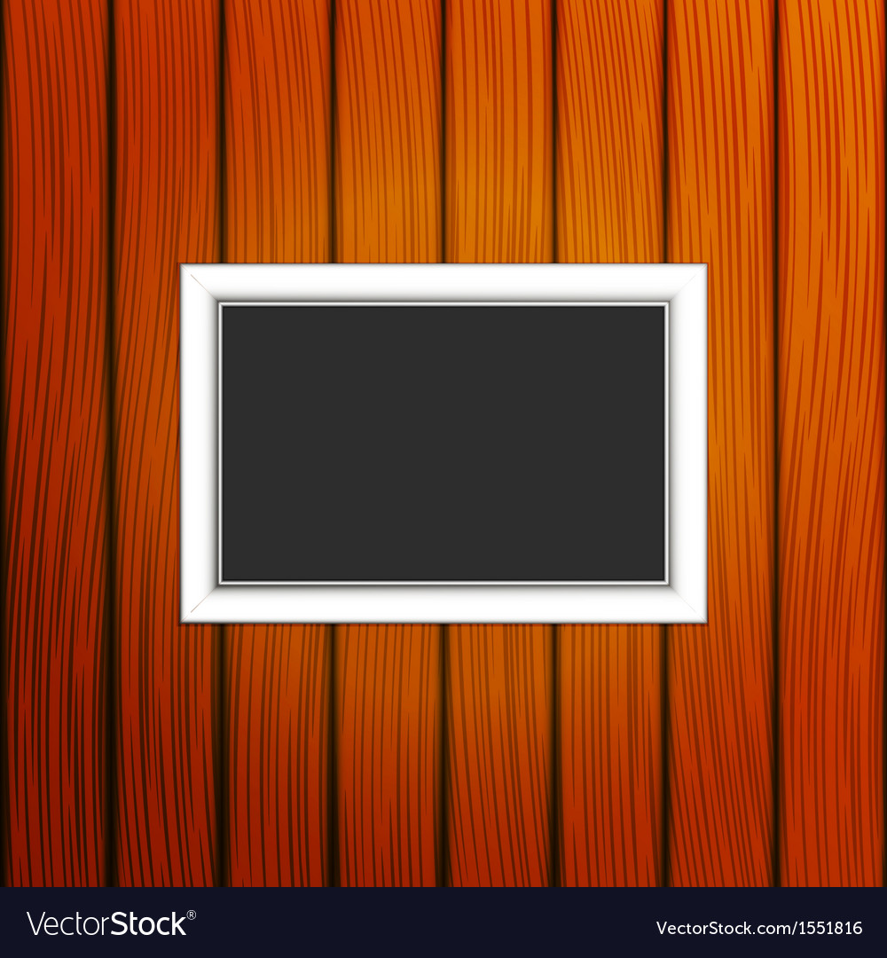 Frame on a wall vector | Price: 1 Credit (USD $1)