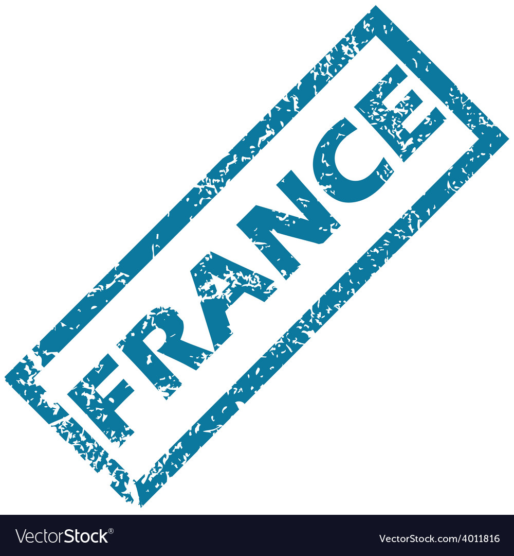 France rubber stamp vector | Price: 1 Credit (USD $1)