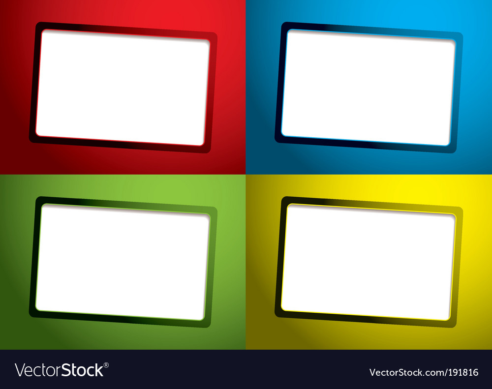 Set business card template vector | Price: 1 Credit (USD $1)