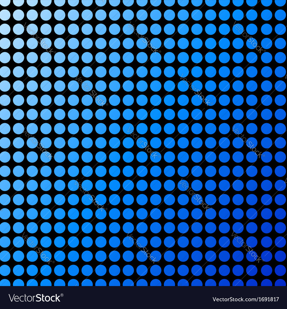 Background with blue polka dots vector | Price: 1 Credit (USD $1)
