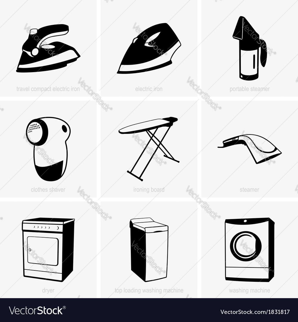 Cleaning tools vector | Price: 1 Credit (USD $1)