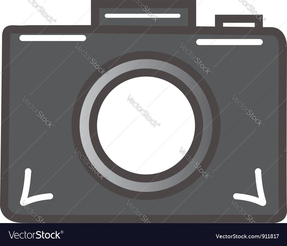 Digital camera vector | Price: 1 Credit (USD $1)