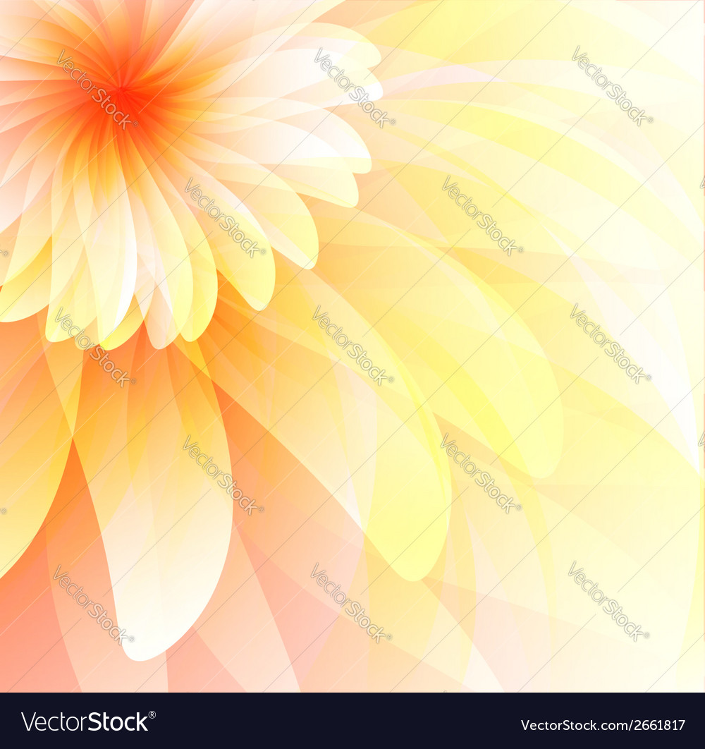 Floral abstract background eps 10 vector | Price: 1 Credit (USD $1)