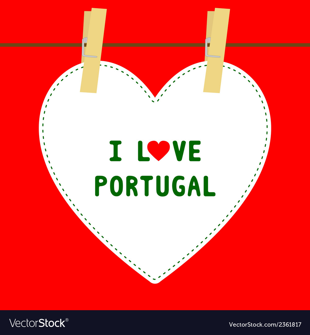 I love portugal5 vector | Price: 1 Credit (USD $1)