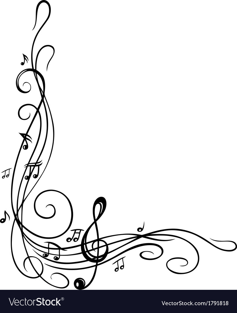 Clef music sheet vector | Price: 1 Credit (USD $1)