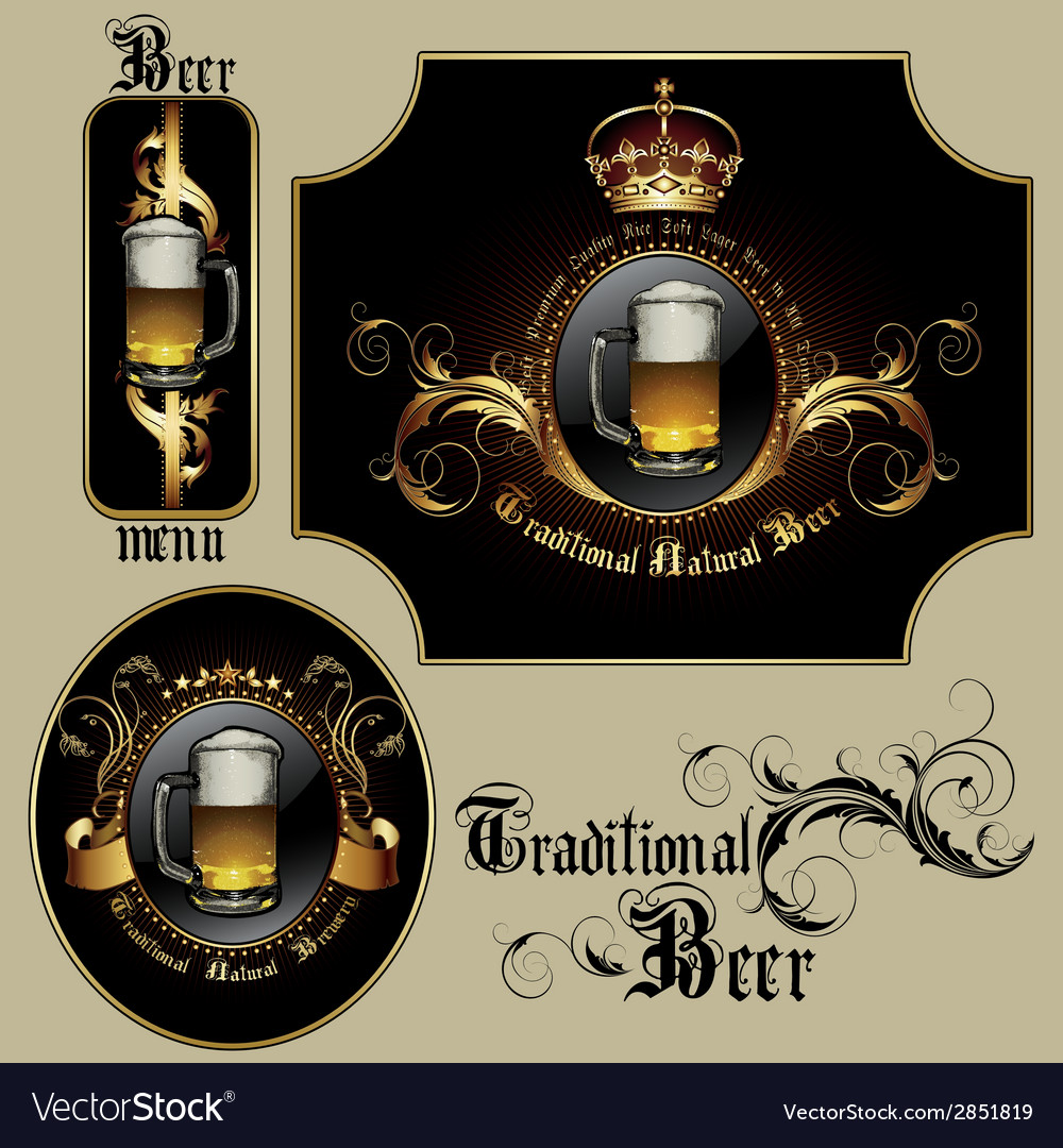 Beer vector | Price: 1 Credit (USD $1)