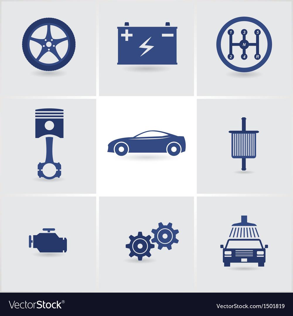 Car service vector | Price: 1 Credit (USD $1)