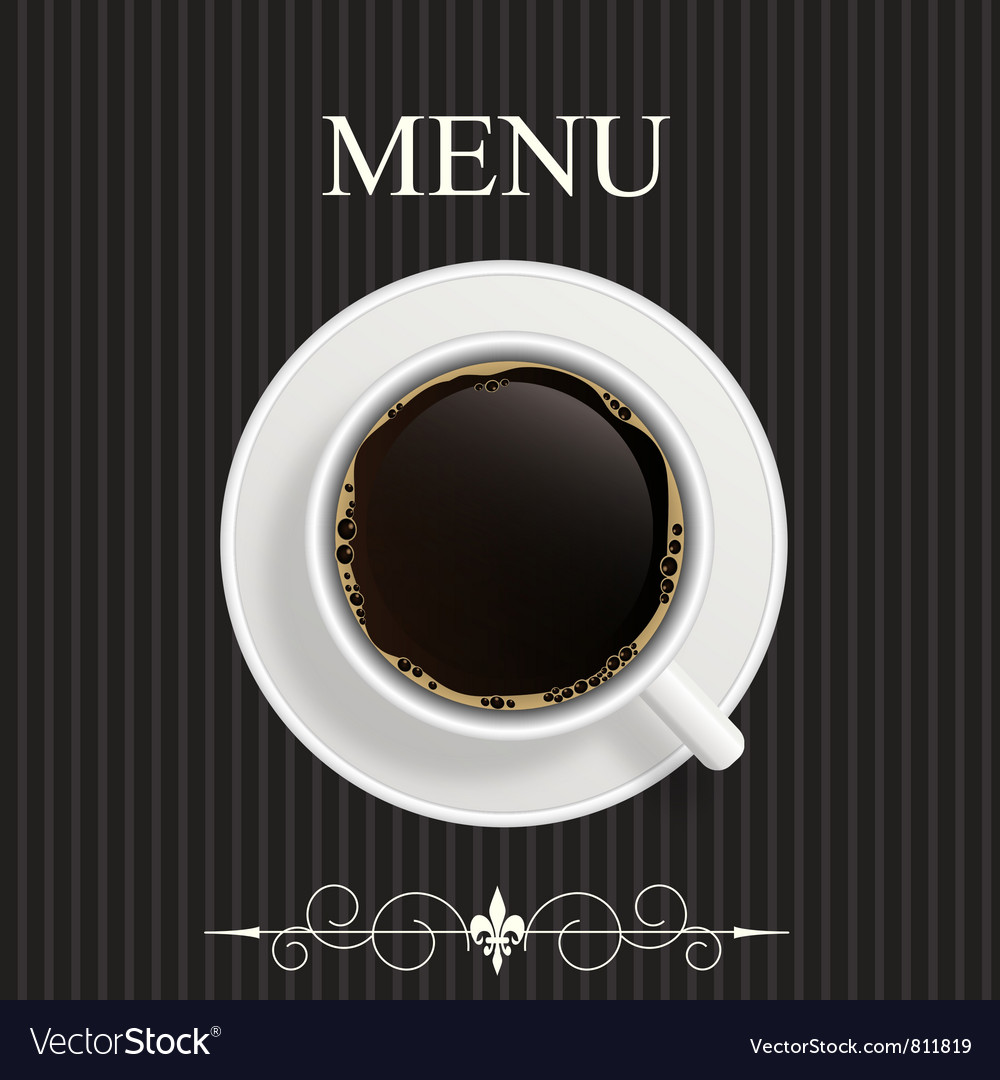 Menu for restaurant cafe vector | Price: 3 Credit (USD $3)