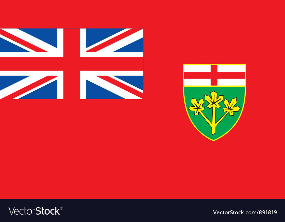 Ontario province vector | Price: 1 Credit (USD $1)