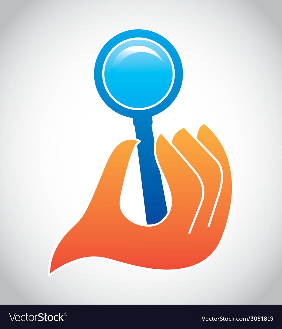 Search design vector | Price: 1 Credit (USD $1)