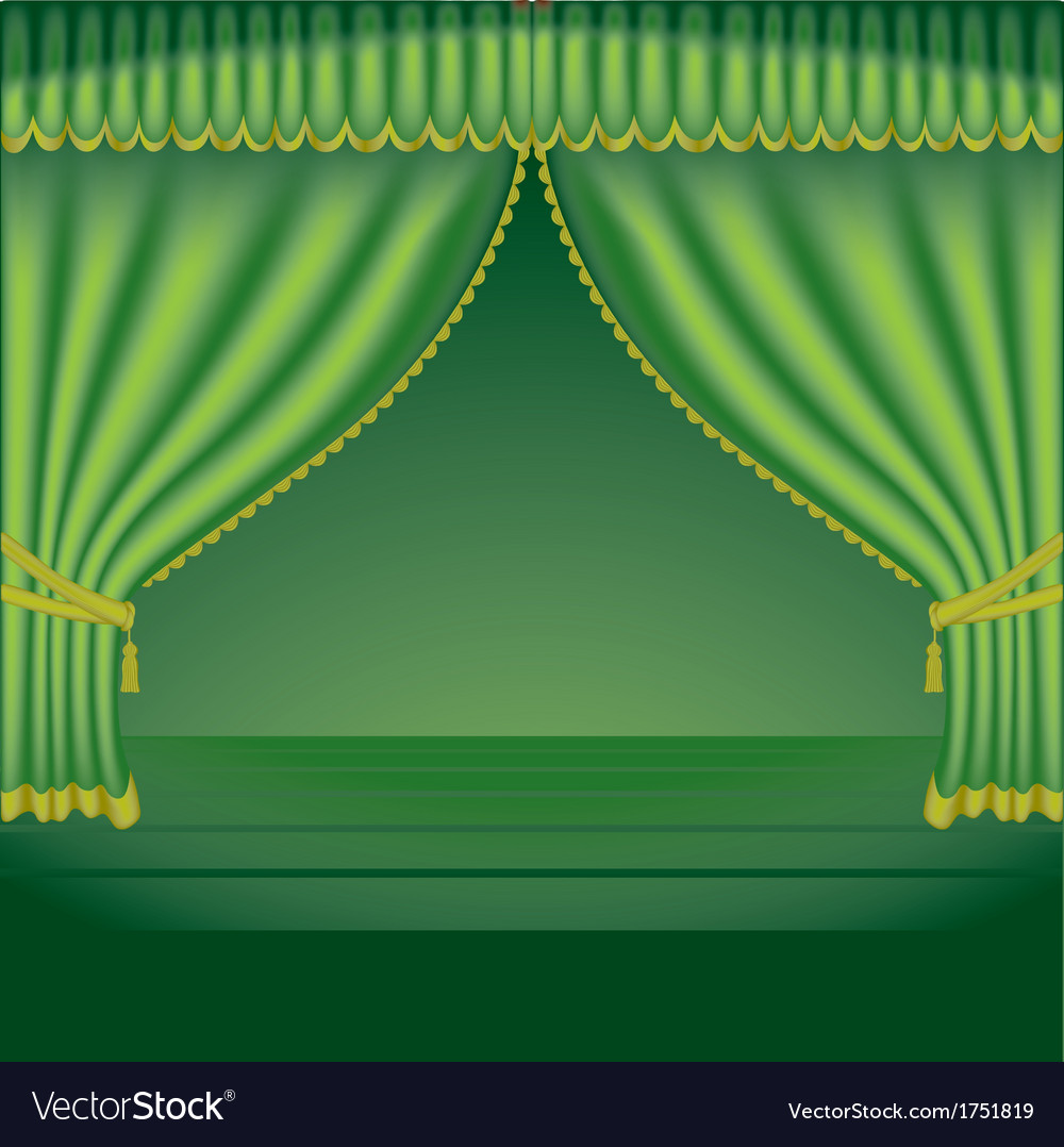 Theatre courtains 02 vector | Price: 1 Credit (USD $1)