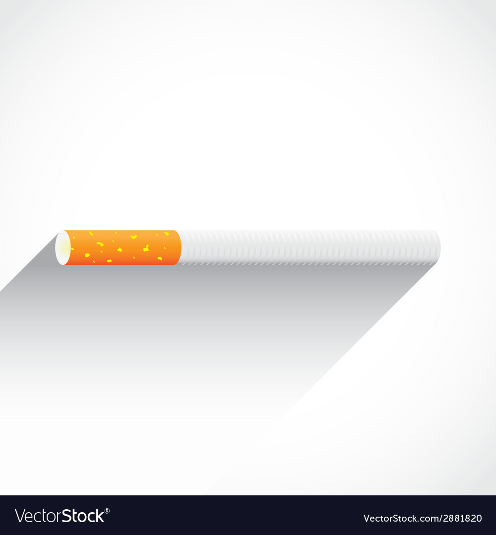 Cigaretteflatshadow vector | Price: 1 Credit (USD $1)