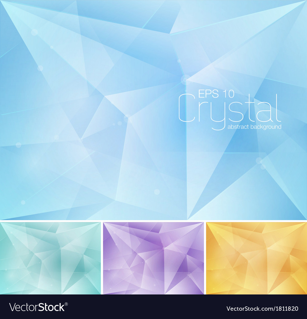 Crsytal abstract background vector | Price: 1 Credit (USD $1)