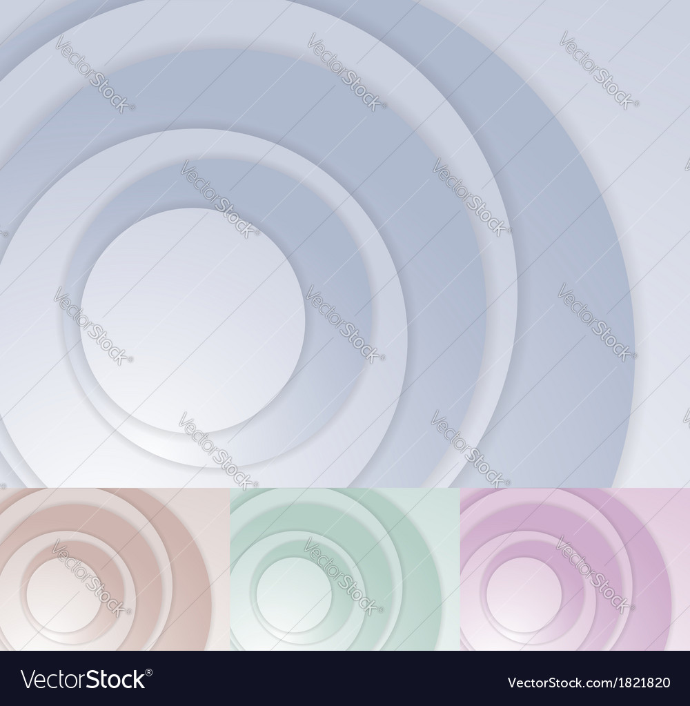 Layered circle background template vector | Price: 1 Credit (USD $1)