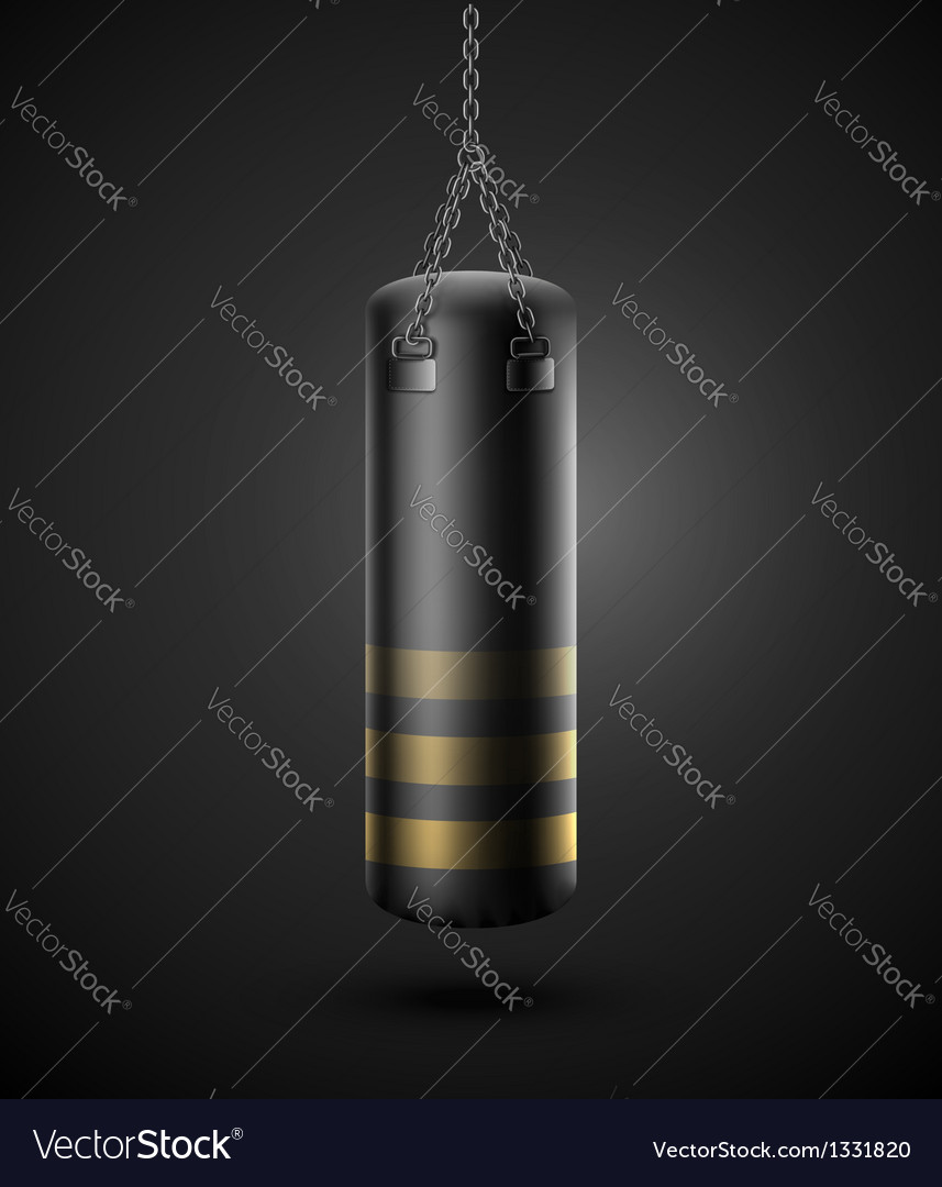 Punching bag vector | Price: 1 Credit (USD $1)