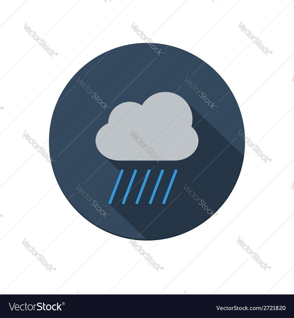 Rain icon vector | Price: 1 Credit (USD $1)