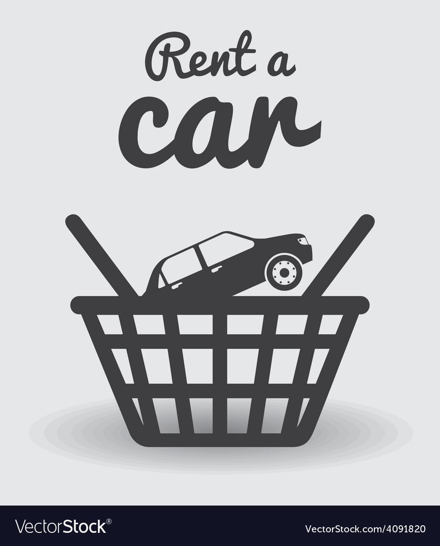 Rent a car design vector   Price: 1 Credit (USD $1)