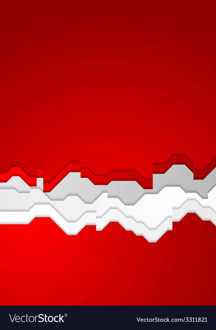 Bright red contrast background vector | Price: 1 Credit (USD $1)