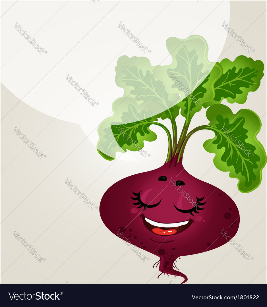 Beetroot - about healthy eating vector | Price: 1 Credit (USD $1)