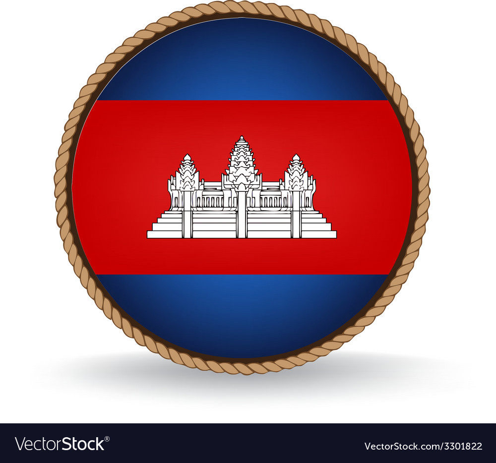 Cambodia seal vector | Price: 1 Credit (USD $1)