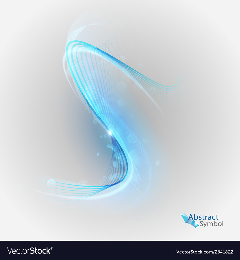 Curves blue vector | Price: 1 Credit (USD $1)