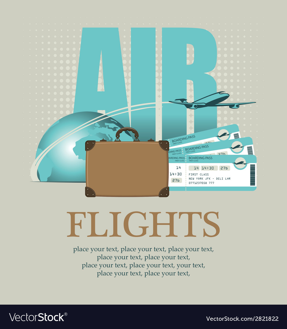 Plane around the world vector   Price: 1 Credit (USD $1)