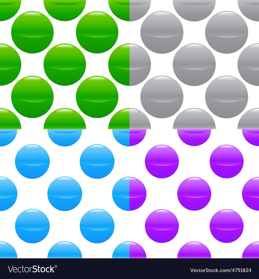Sphere pattern set vector | Price: 1 Credit (USD $1)
