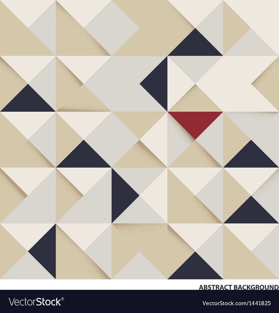 Abstract triangle and square background vector | Price: 1 Credit (USD $1)