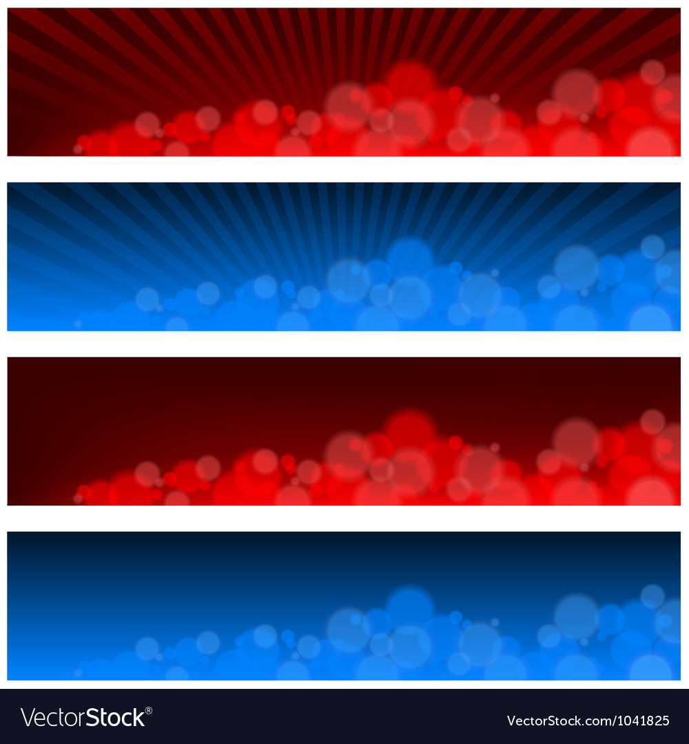 Blurry banners vector | Price: 1 Credit (USD $1)