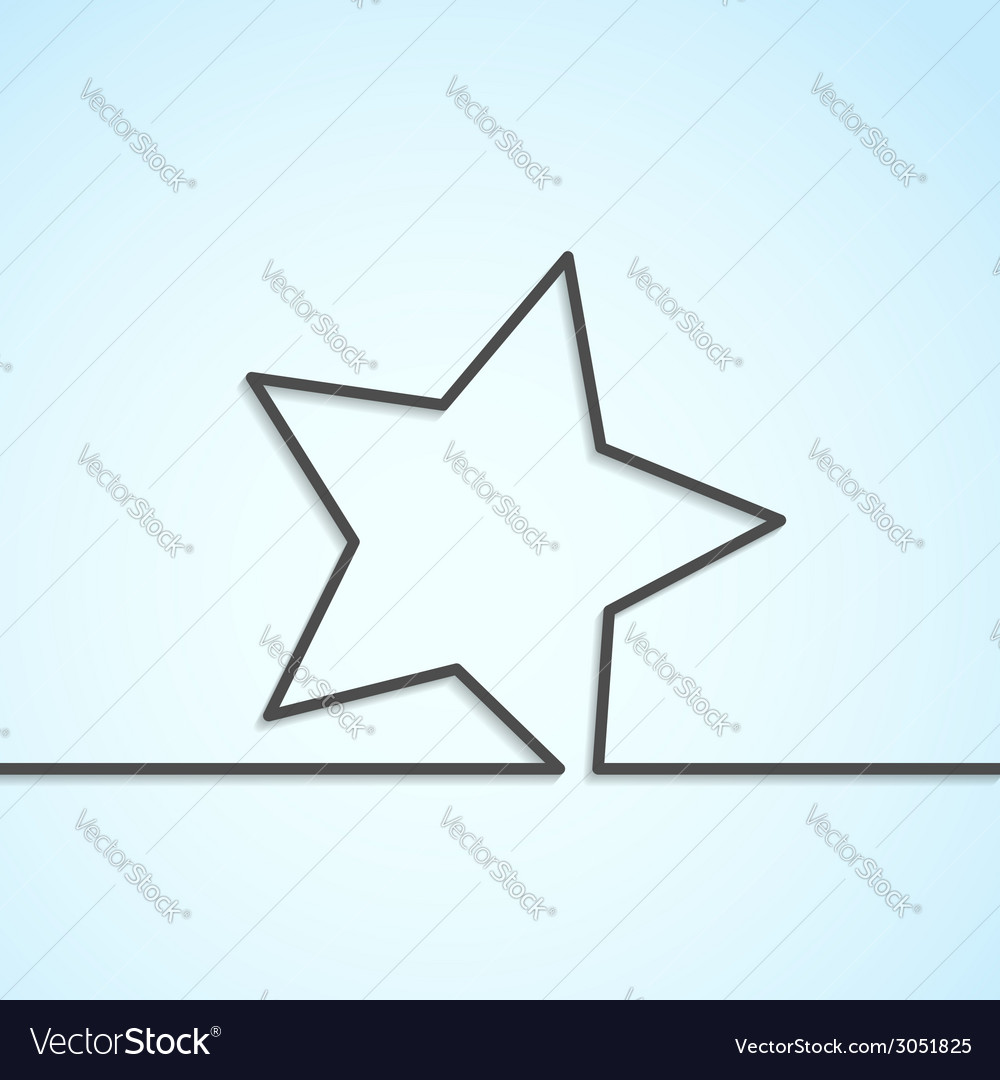 Star icon abstract modern background template vector   Price: 1 Credit (USD $1)