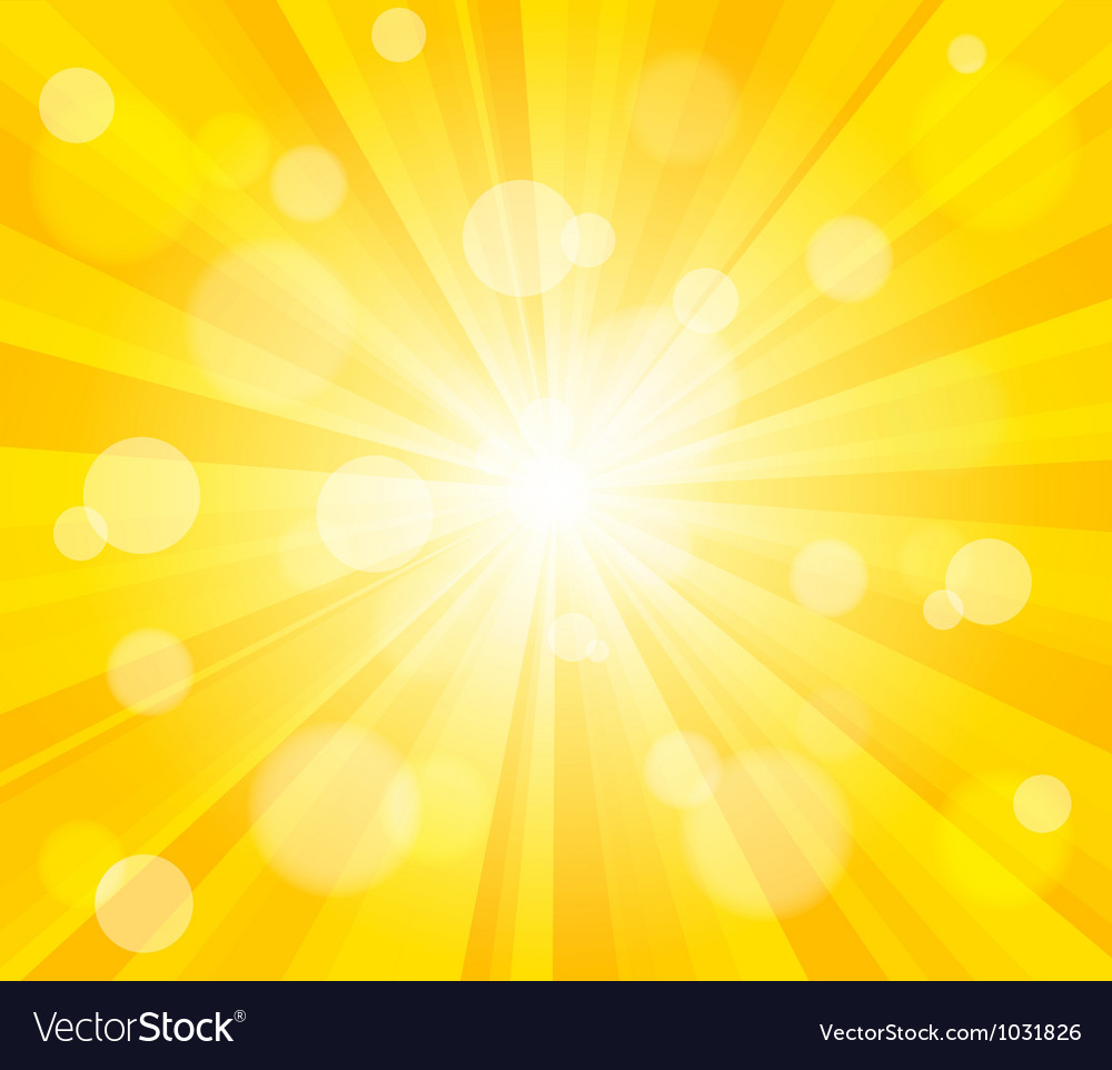 Bright sun effect background vector | Price: 1 Credit (USD $1)
