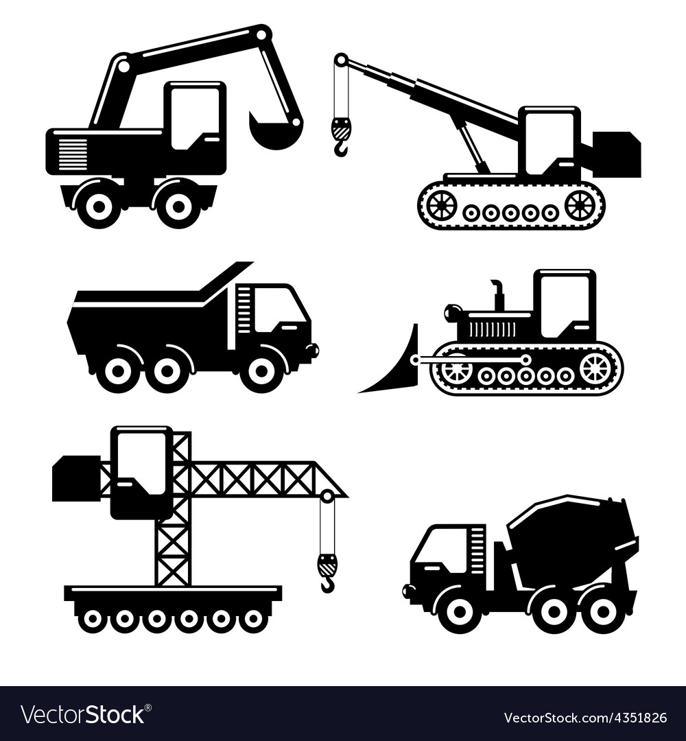 Icons construction vector | Price: 1 Credit (USD $1)