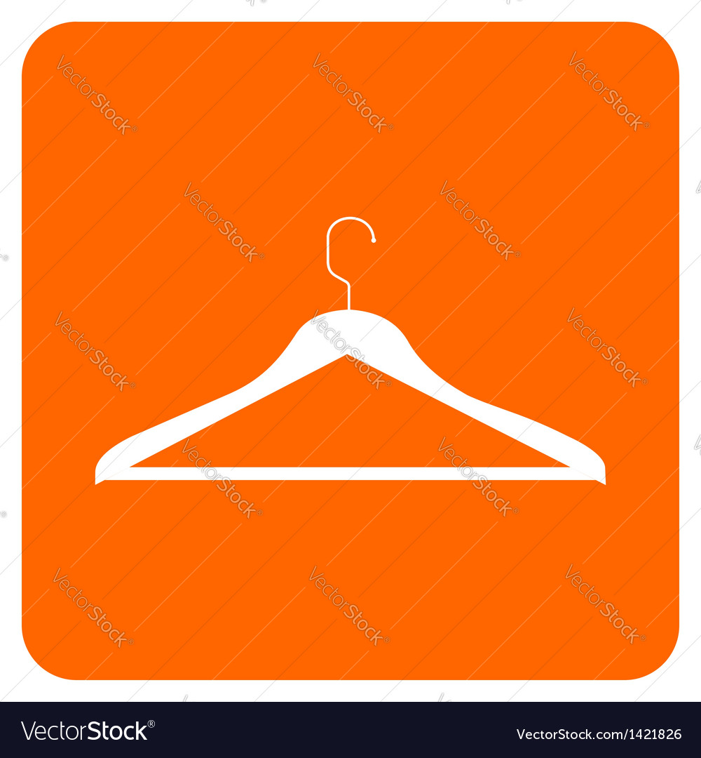 Objects collection clothes hanger vector | Price: 1 Credit (USD $1)