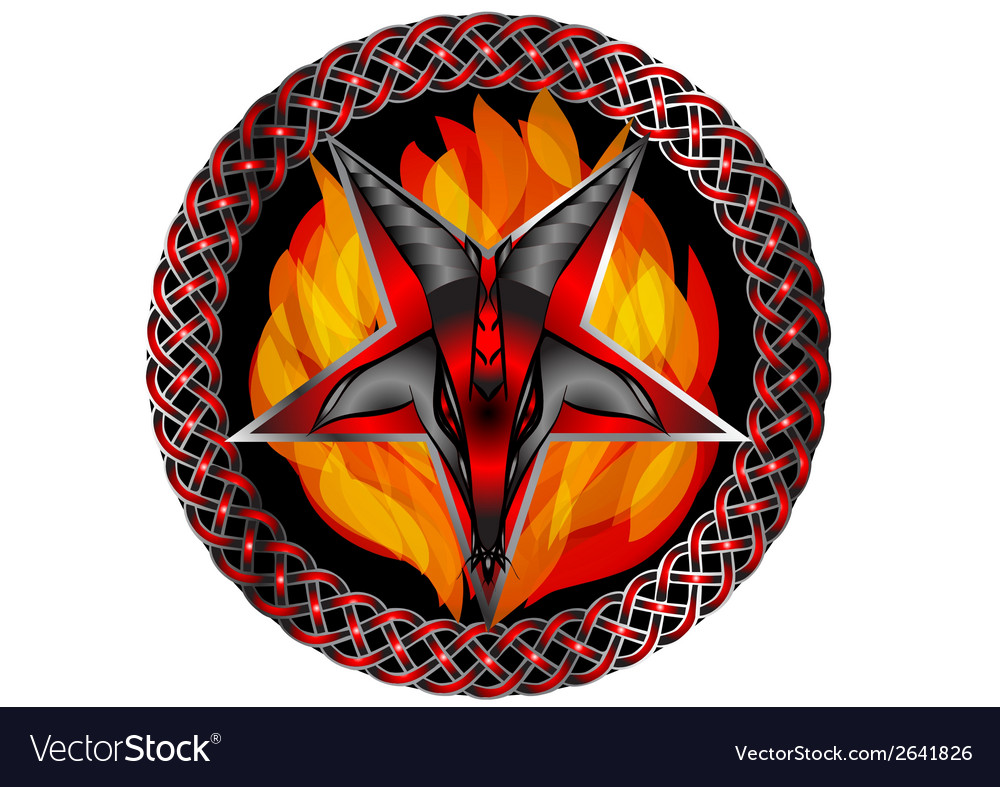 Satan vector | Price: 1 Credit (USD $1)